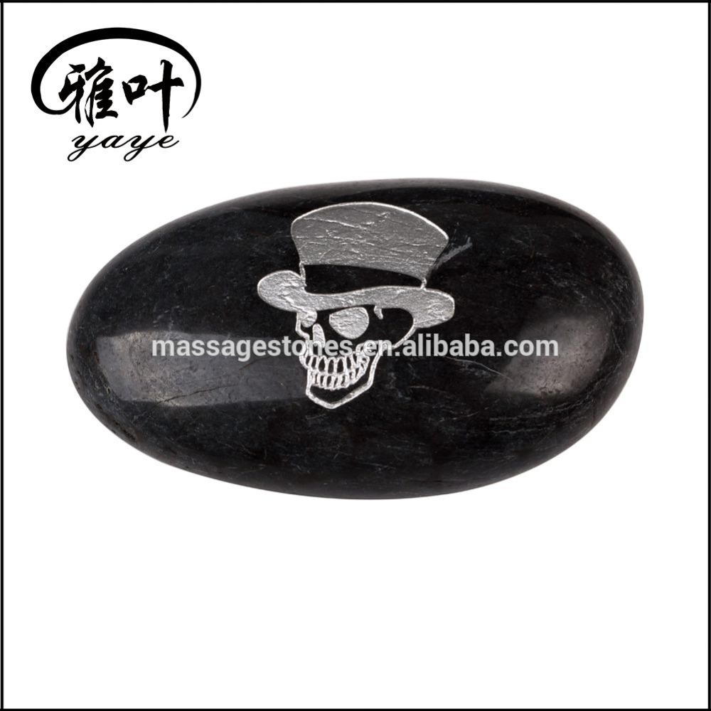Bulk Engraved Pebble Marble With Inspirational Word