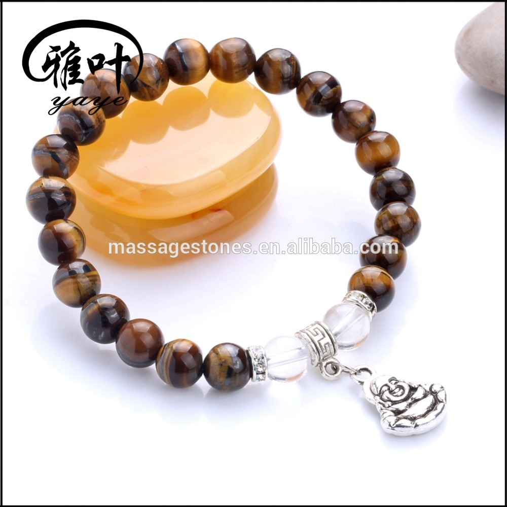 Factory Prices Beads Bracelets with Tibetan Silver Buddha Beads Man Bracelets