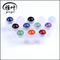 Factory Suppy Plastic Top Colorful Gemstones Top Essential Oil Gemstone Roller Balls