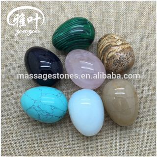 2017 Natural Stones Semi-precious Stones Egg Carving Crafts