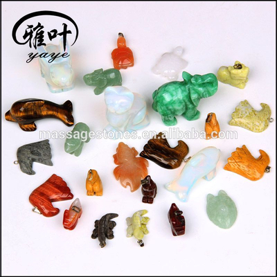 Natural Semi Precious Stone Customized Animal Shape For Sale