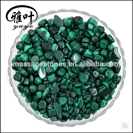 Natural Malachite Tumbled Stones Malachite Stones