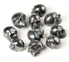 Hematite Skull Beautiful Natural Hand Carved Crysal Sacred Ancient Past Life Love Heart Healing Energy 1.5""