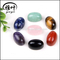 Wholesale 7 Chakra Gemstone Arched Crystal Cabochon