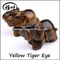Yellow Tiger eye Elephant Figurines for wholesale