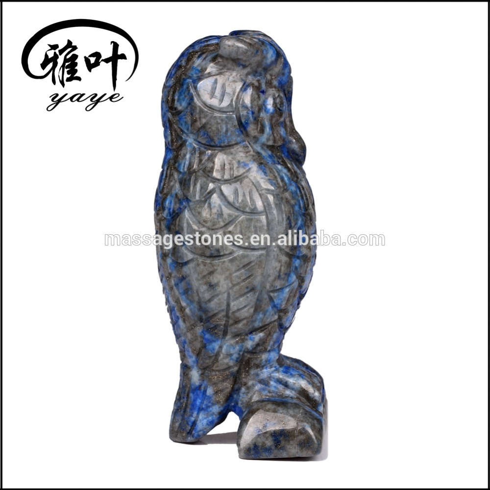 Bulk Wholesale Lapis Lazuli Owl Statues/Gemstones Carved Owls
