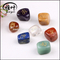Natural Gemstones Engraved Chakra Stones for Wicca