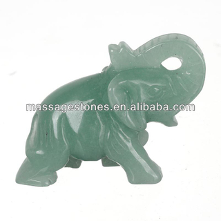 Wholesale stone animal small stone elephant carvings