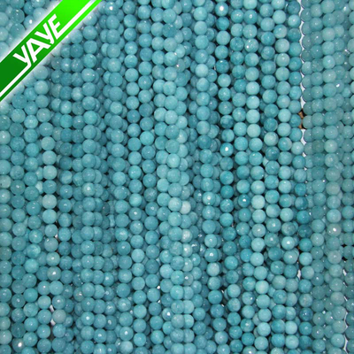 Wholesale jade 6 mm round mixed color beads