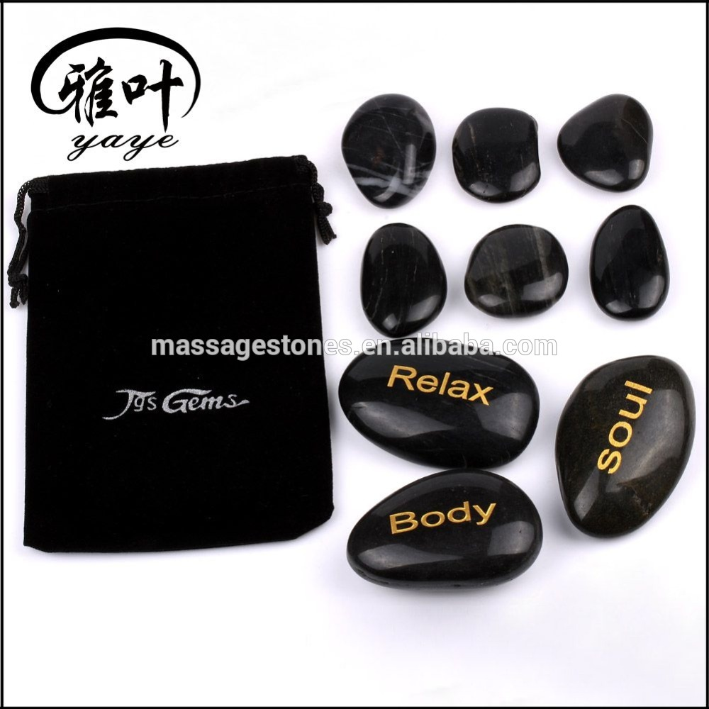 Wholesale hot stone massage stone for Spa