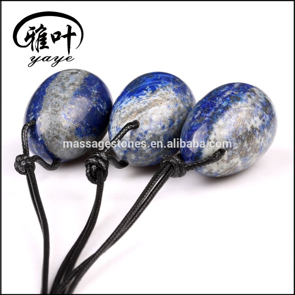 Wholesale Natural Gemstone Lapis Lazuli Yoni egg For Kegel Exercise