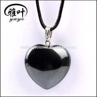 Highly Polished Hematite Stones Pendants