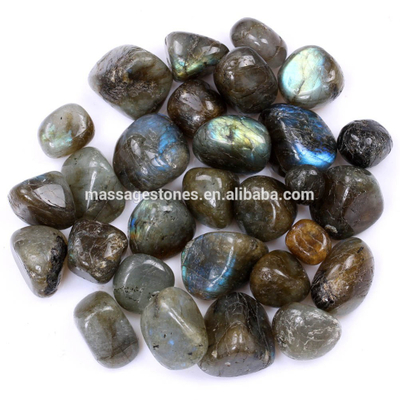 wholesale gemstone tumble stones labradorite tumbled stone