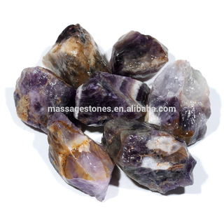 Wholesale Natural Amethyst Tumbled Stone Rough Gemstone Various Usage For Gifts