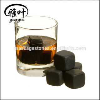 Bar Accessories Whiskey Stones black basalt ice cube stone