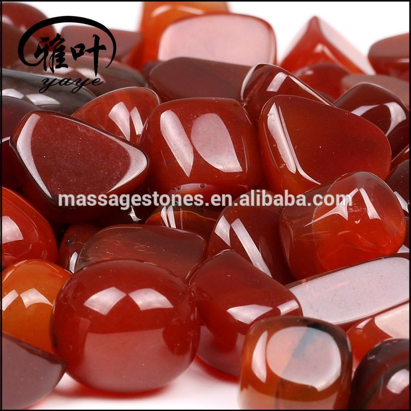 Wholesale Heated Carnelian Tumbled Stone
