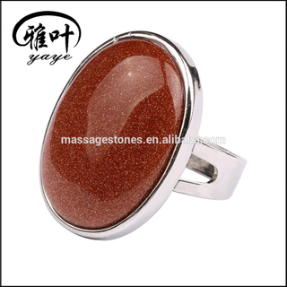 Custom Production Wholesale Cobochons Rings Gemstones Cabochon Rings