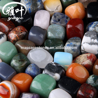 Customized Wholesale 20-25mm Genuine Semi-precious Tumbled Stone