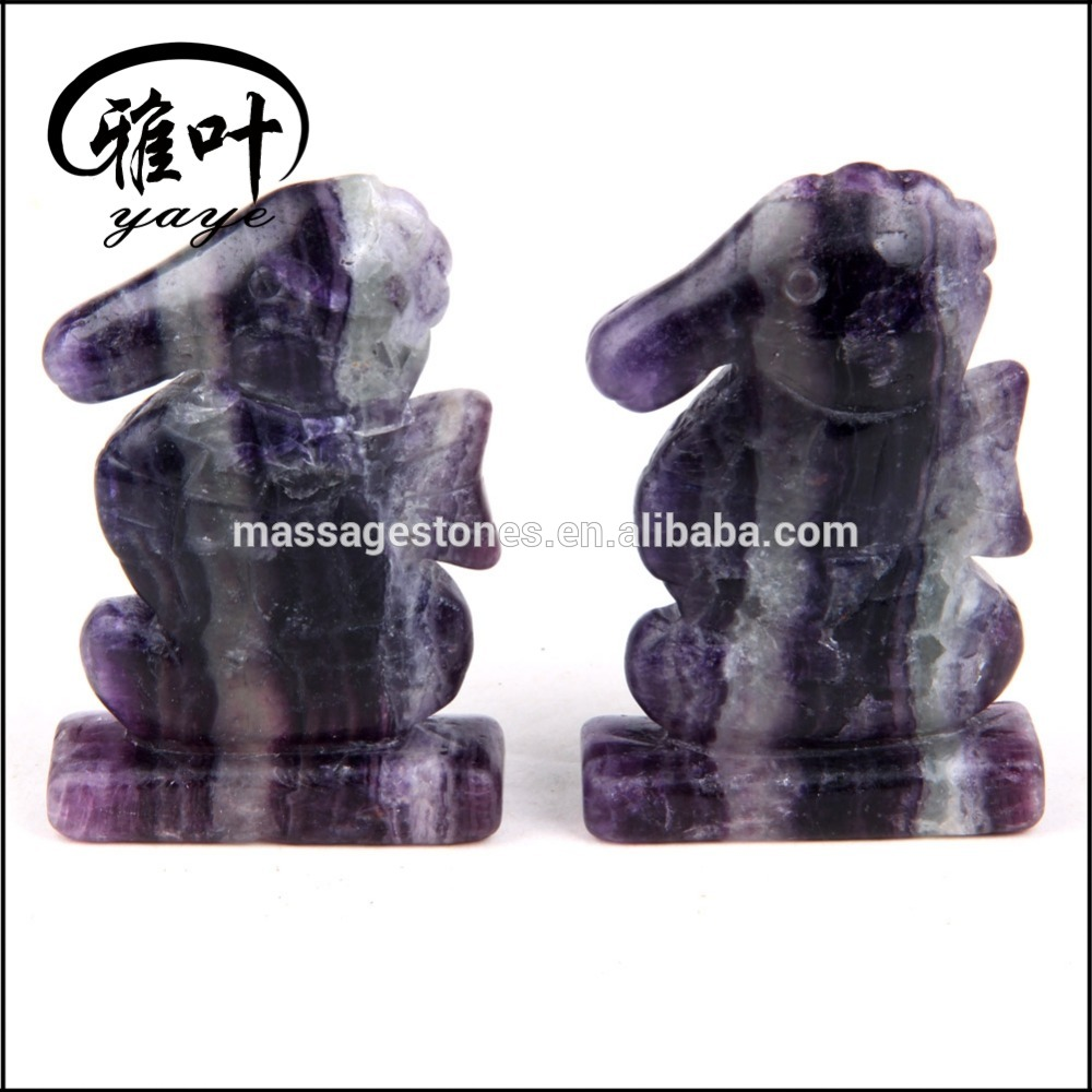 Hand Carved Gemstones Animal Carvings