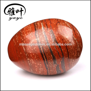 Factory Price Natural Undrilled Red Jasper Kegel Yoni Egg