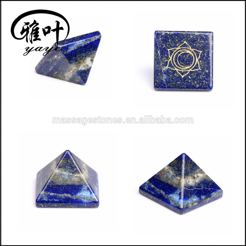 Wholesale Natural Reiki Pyramid Gemstone Vastu Pyramid Meditation/Crystal Pyramid