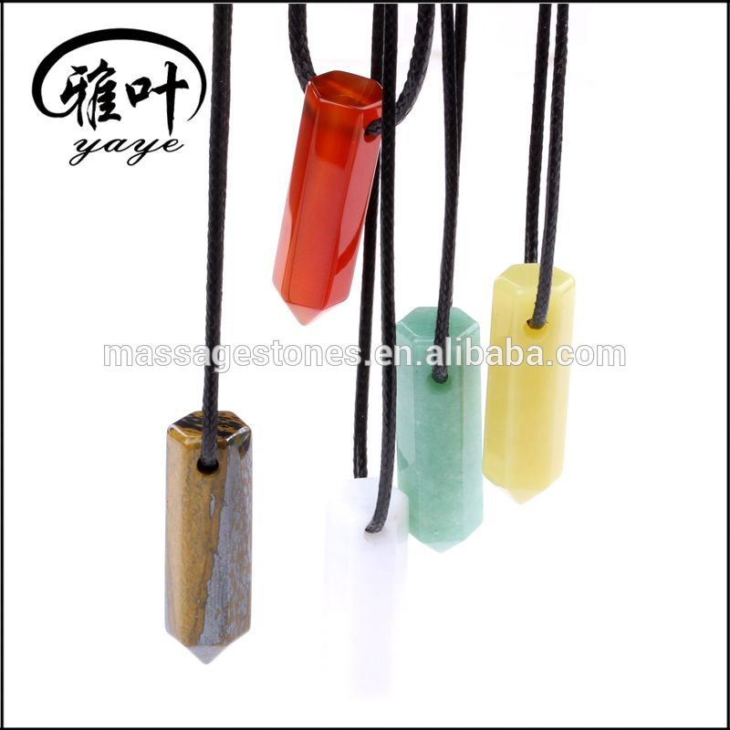 Wholesale Energy Mixed Crystal Point Pendant Hot sale Promotional Healing Colorful Point Beads for Gift