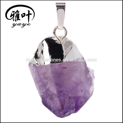 Wholesale Large Geodes Crystal Amethyst Geodes Pendants