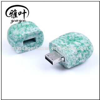 Wholesale Natural Marble stones USB flash drive, stone usb from polymer clay, computer gadget usb