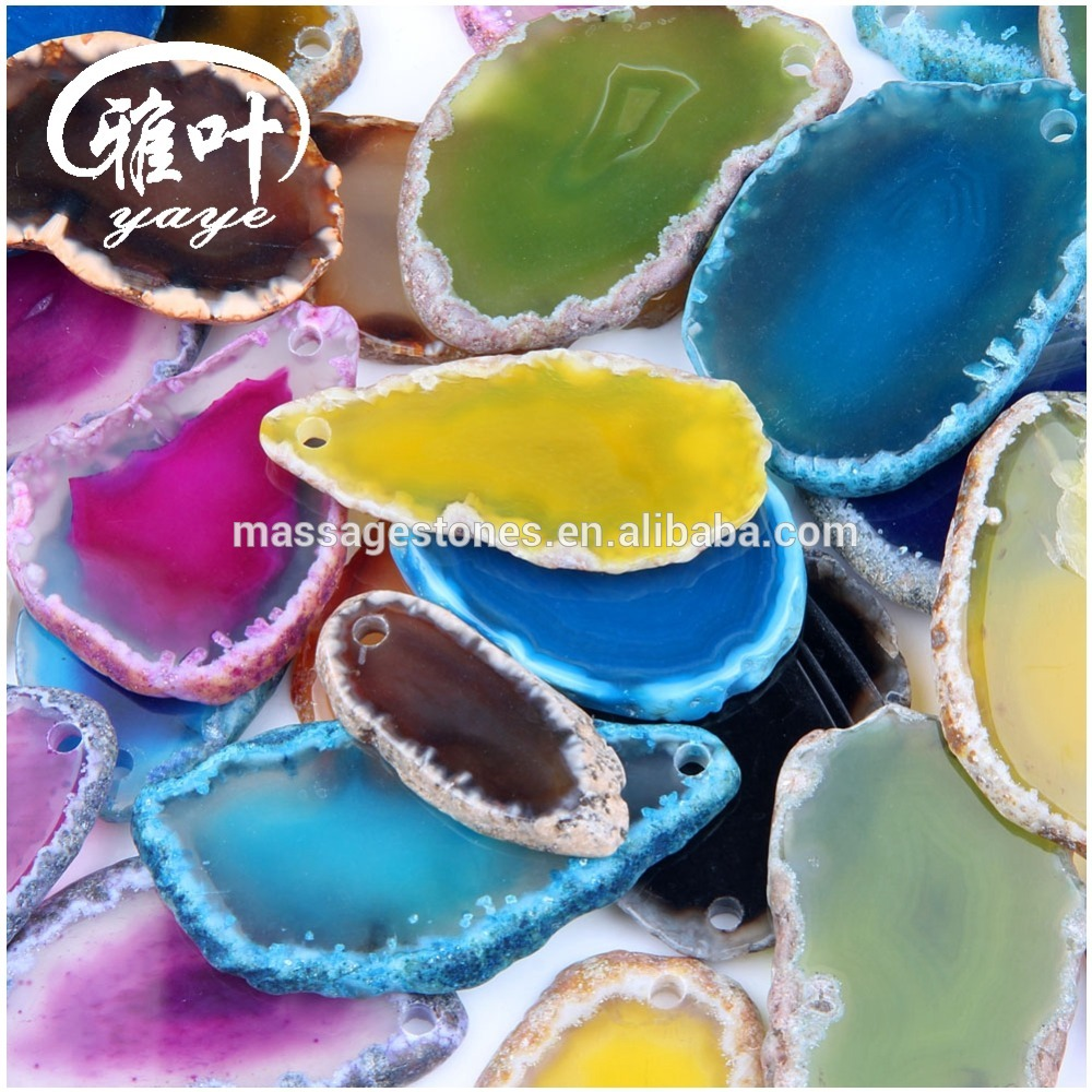 Customized agate stone slice for Wholesale